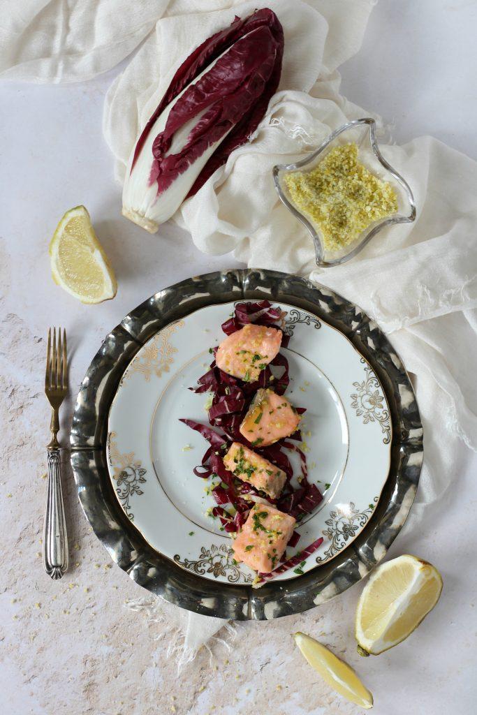 Bocconcini di salmone al bergamotto ricetta facile