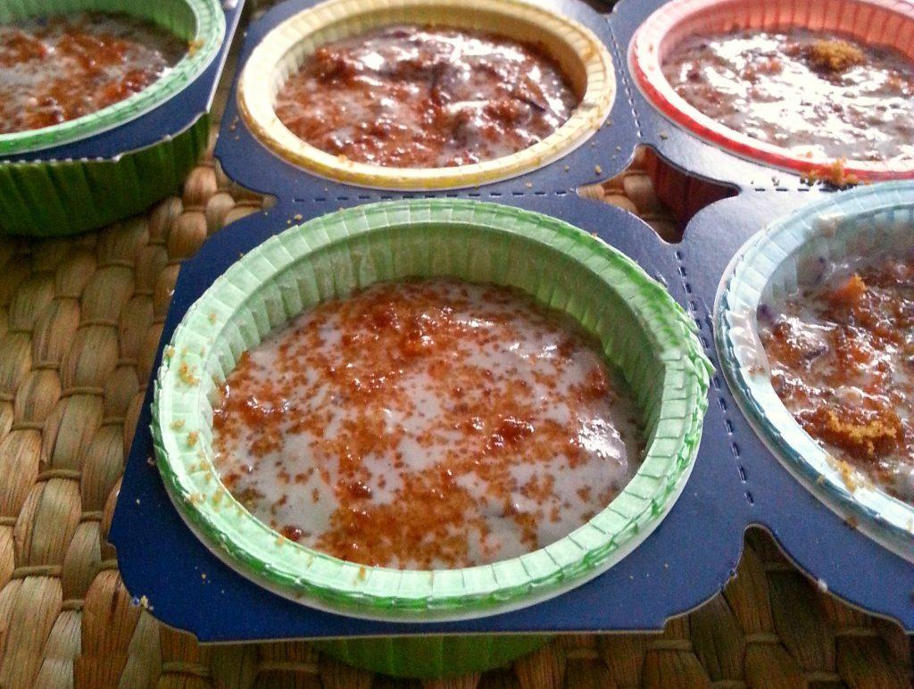 Vegan muffin integrali con uvetta e carota bicolore ricetta light