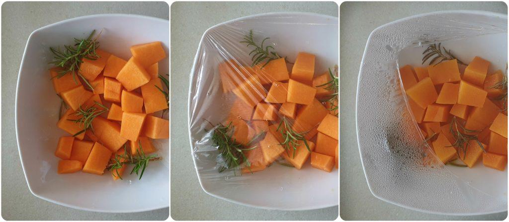 Polpette veggie di tofu e zucca cotte al forno cottura zucca