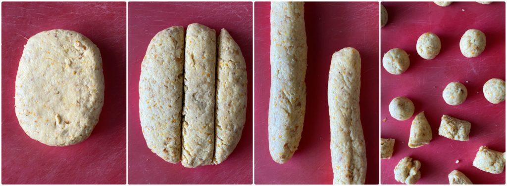 Castagnole light vegane al forno procedimento