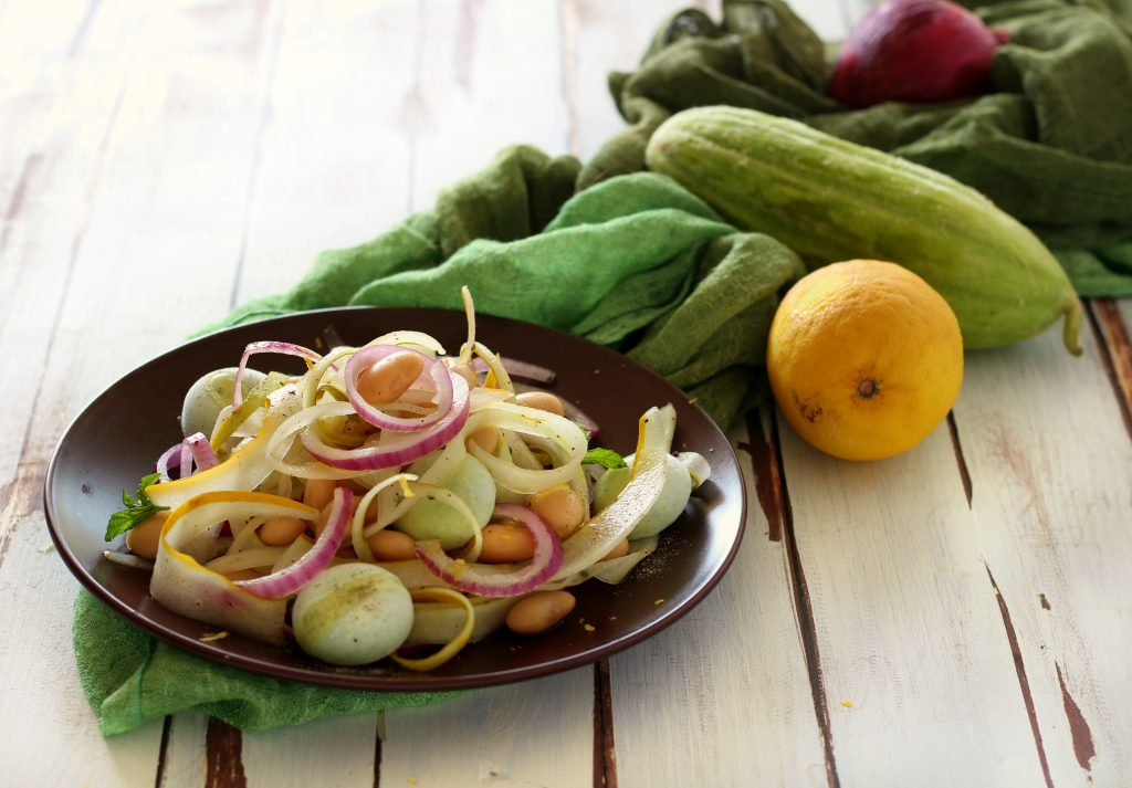 Insalata di fagioli cetrioli e frozen yogurt papilla monella for Cucinare cetrioli