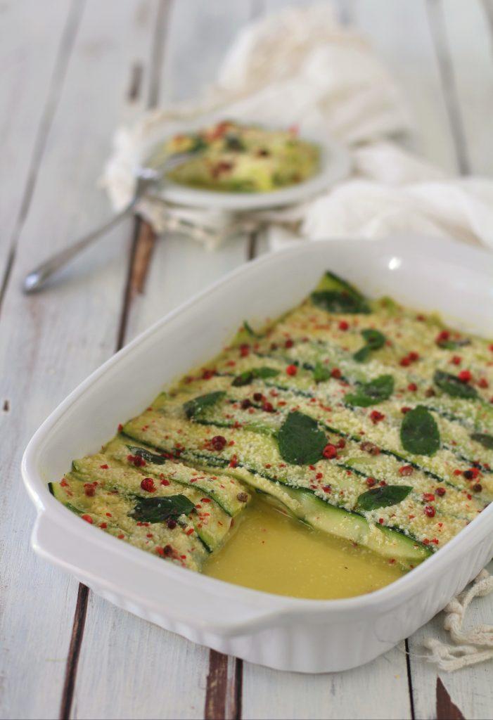 Lasagna di zucchine senza pasta e senza cottura light