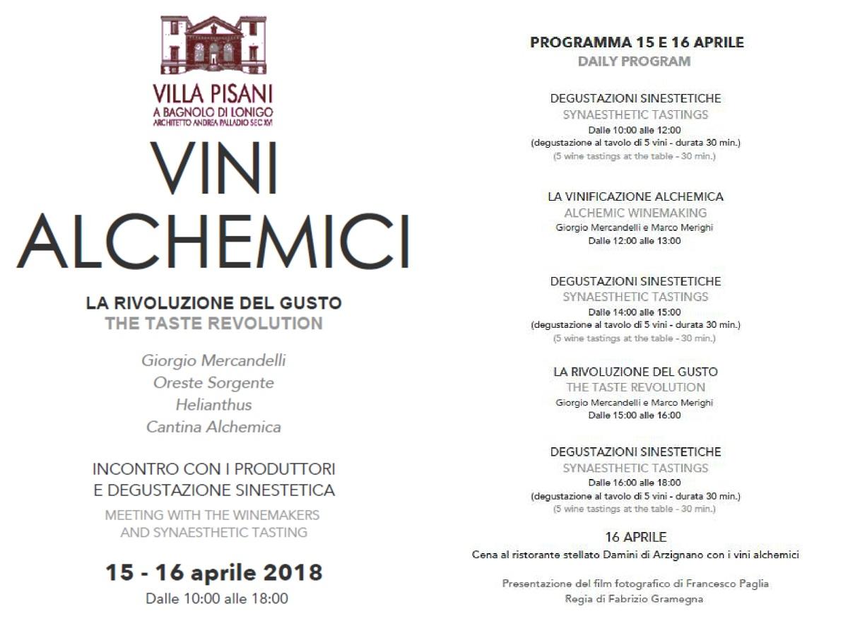 Giorgio Mercandelli evento villa pisani