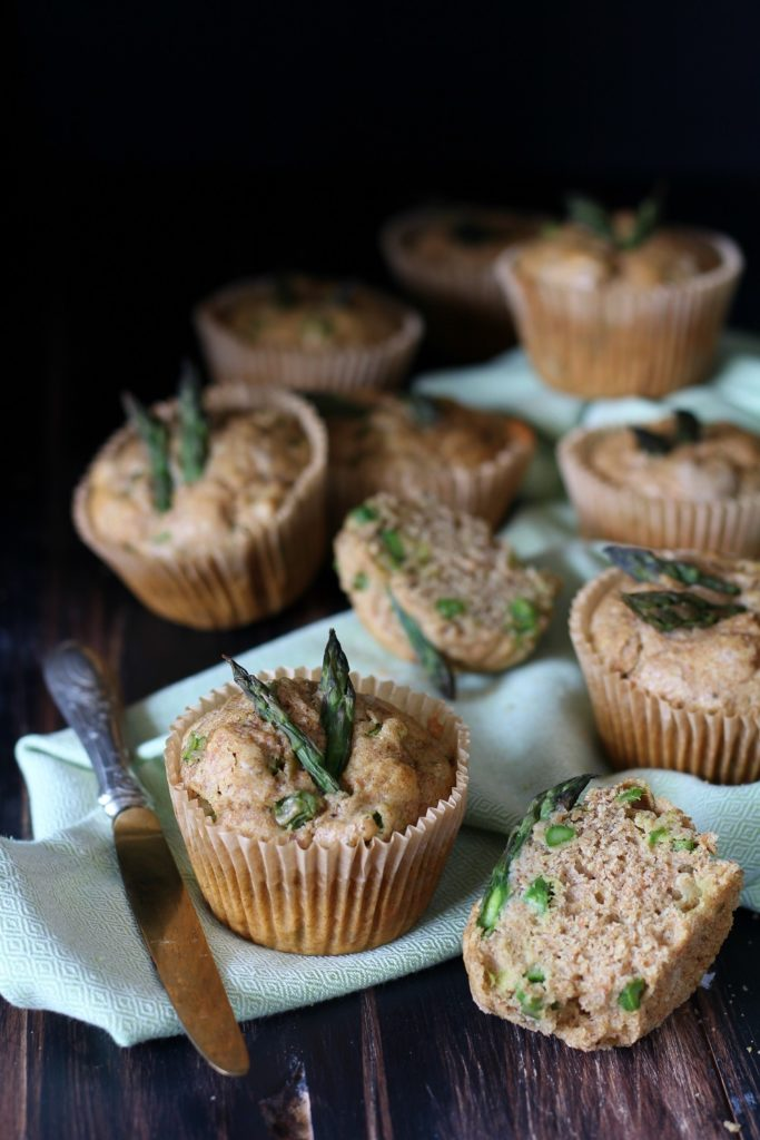 muffin leggeri e integrali agli asparagi AmoreTerra