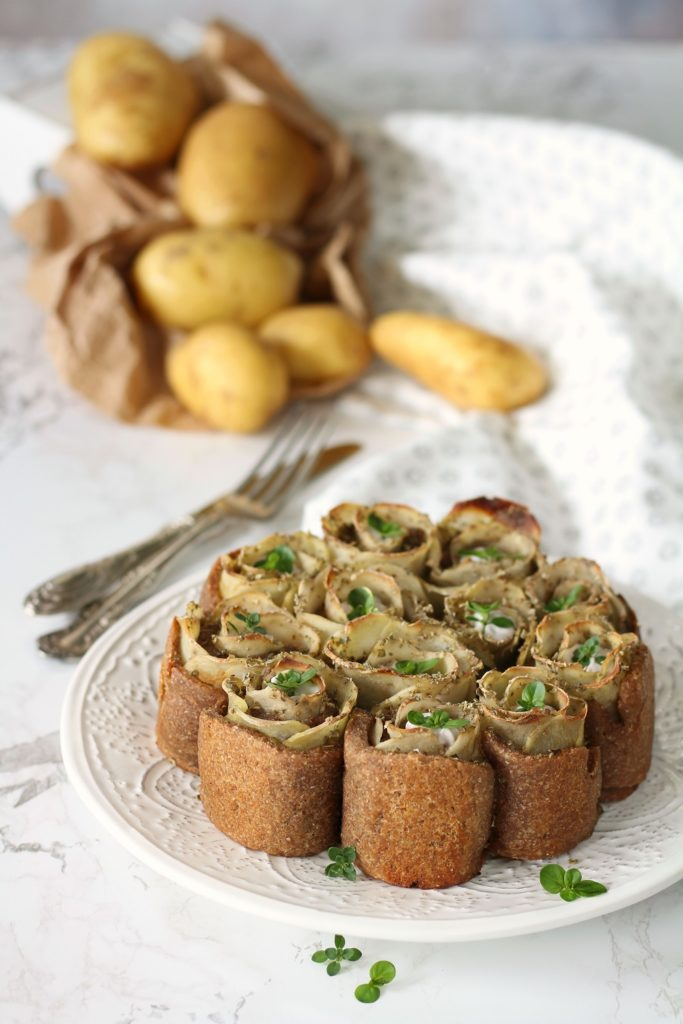 Torta salata con patate e senape di Dijon Maille