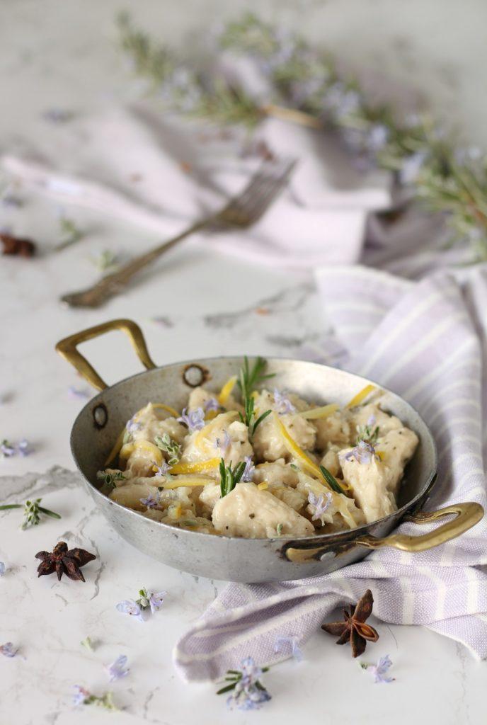 pollo al miele limone e zenzero con anice stellato ricetta light