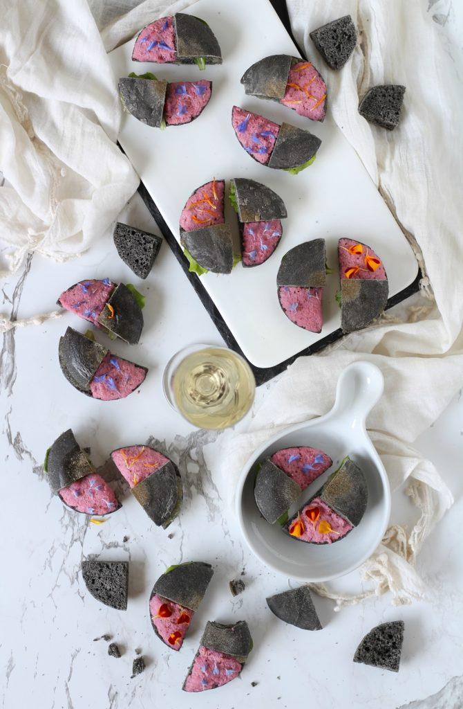 Spunciotti con stoccafisso in rosa e mostarda veneta Talent for food