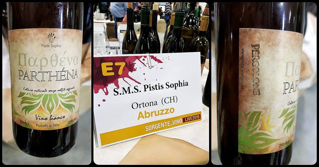 Sorgente del vino Pistis Sophia