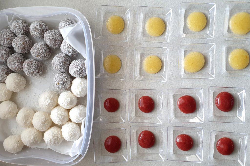 Bis di tartufini senza cottura glutenfree preparazione