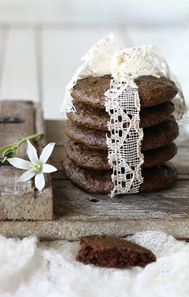 Cookies morbidi ai piselli e cioccolato fondente biscotti golosi