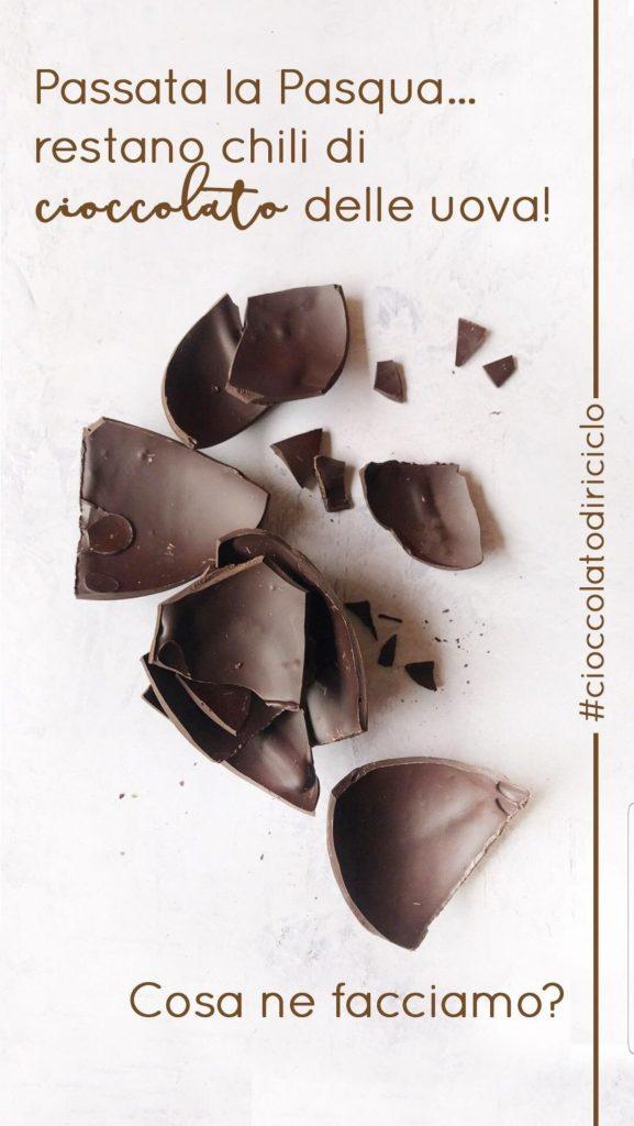 come riciclare il cioccolato fondente