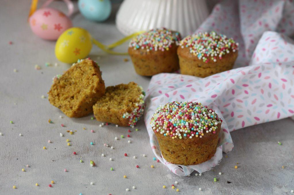Muffin integrali vegan al succo di frutta naturabuona