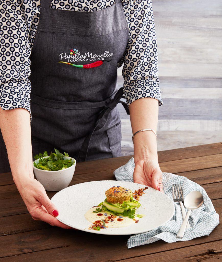 Frittata al vapore con crema di parmigiano e asparagi COLDIRETTI PORTAROMANA