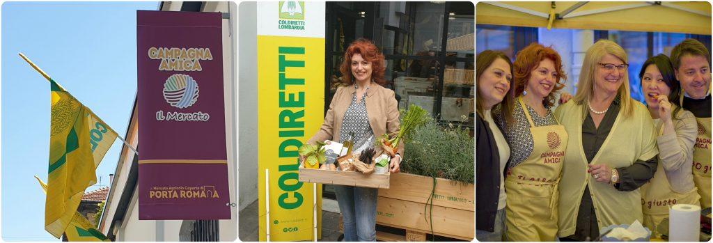 Coldiretti Portaromana Sonia Peronaci frittata