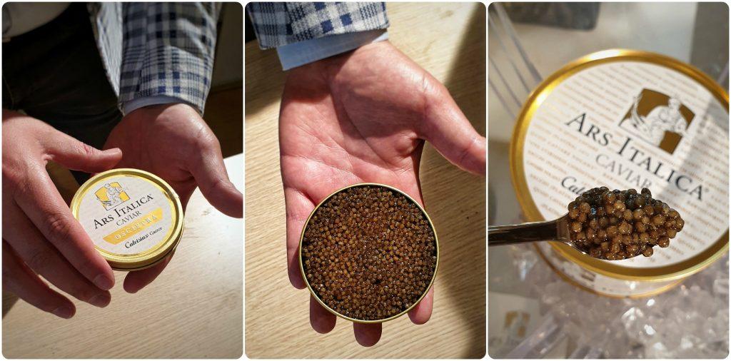 Caviale ars italica caviar parco ticino cascina montediviso