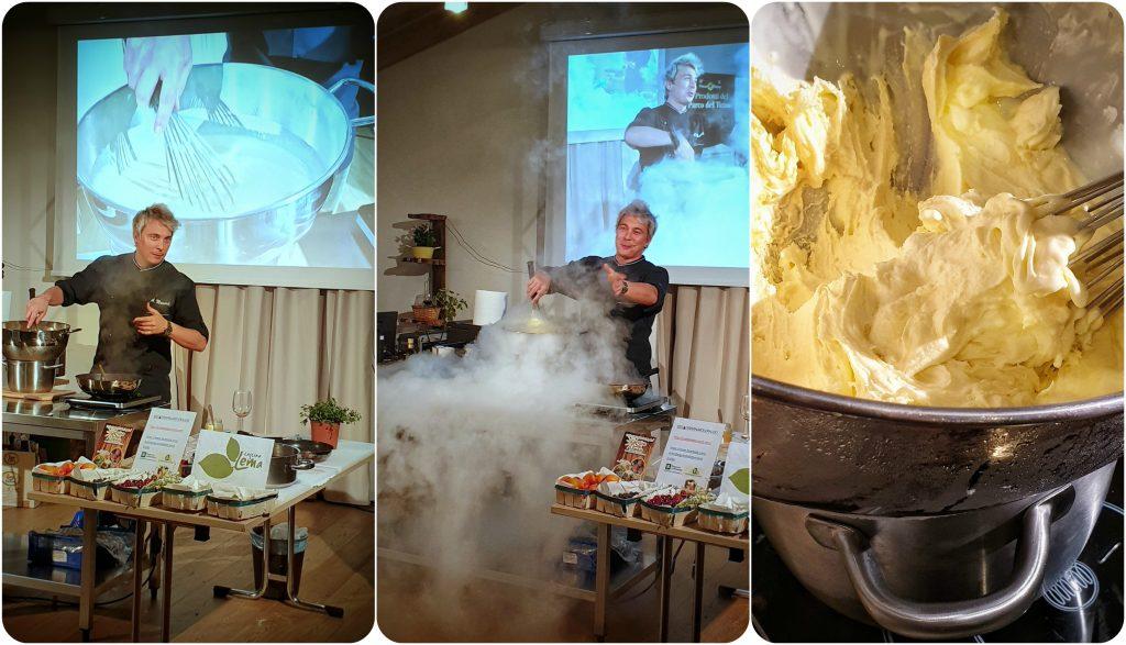 gelato azoto liquido chef Mainardi