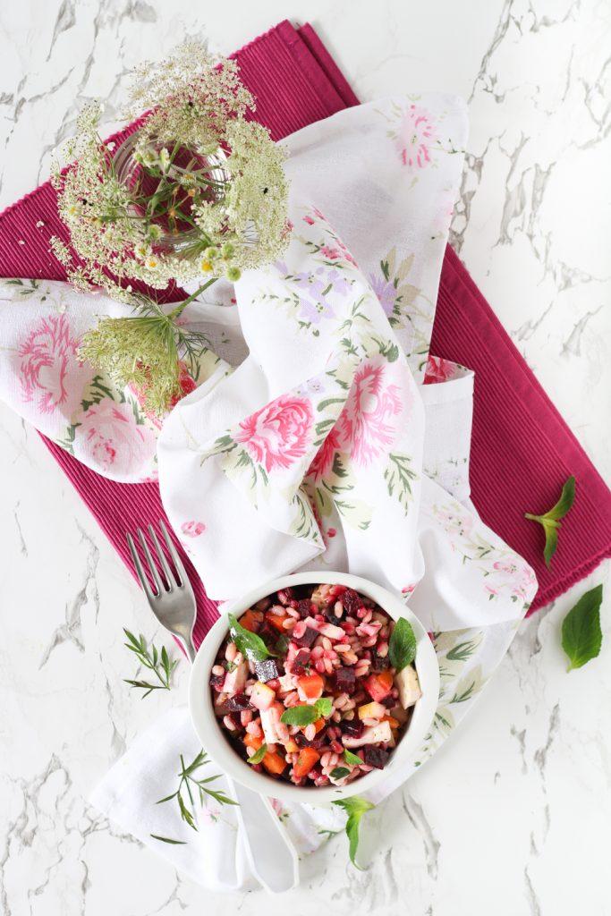 Orzo salad con primosale