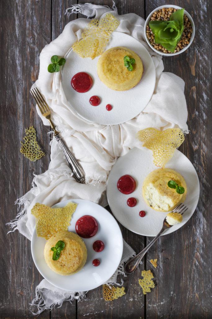 Sformatino ricotta parmigiano a bagnomaria ricetta veloce