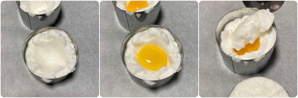 Come preparare l'uovo nuvola