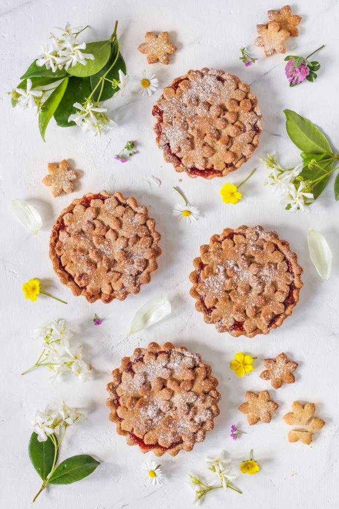 Crostatine vegan con grano saraceno Rigoni di Asiago