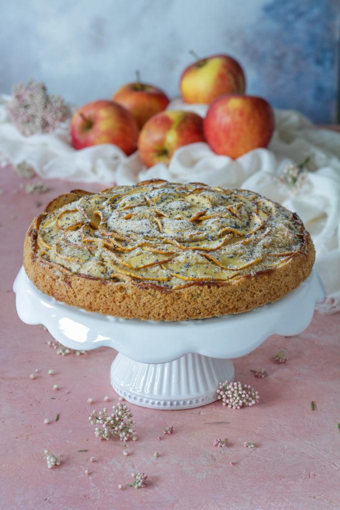 Torta vegana di mele soffice e facile
