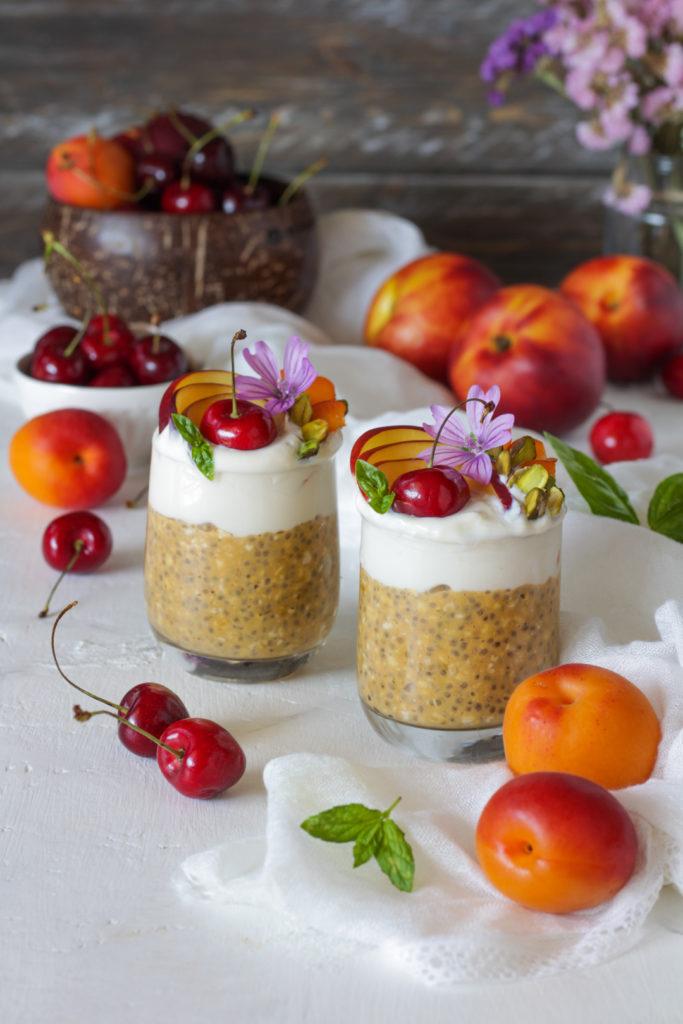 Overnight porridge al succo di frutta ricetta veloce