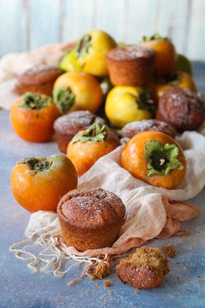 Muffin cachi e sorgo facili e veloci