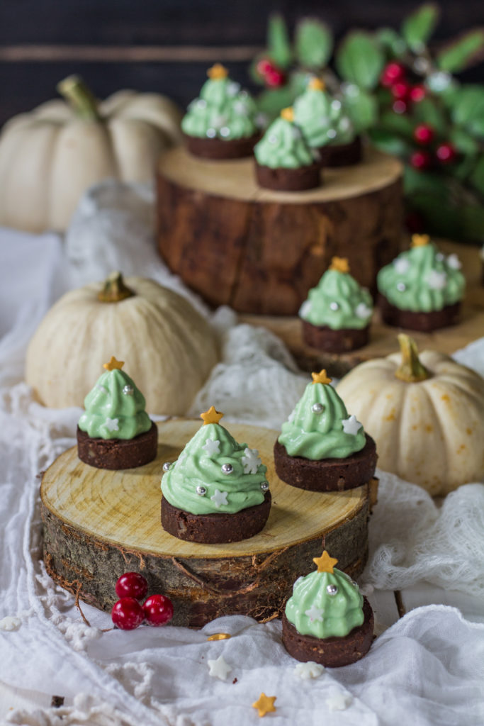 Brownies alberello di Natale ricetta facile