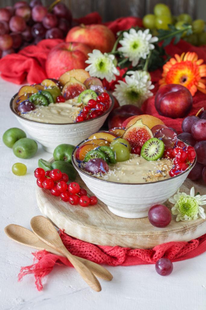 Budino di miglio e marmellata ricetta vegana