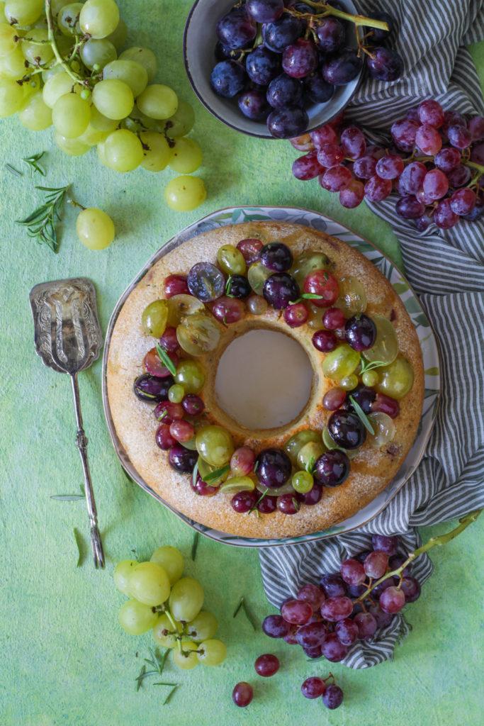 Ciambella vegan all'uva light