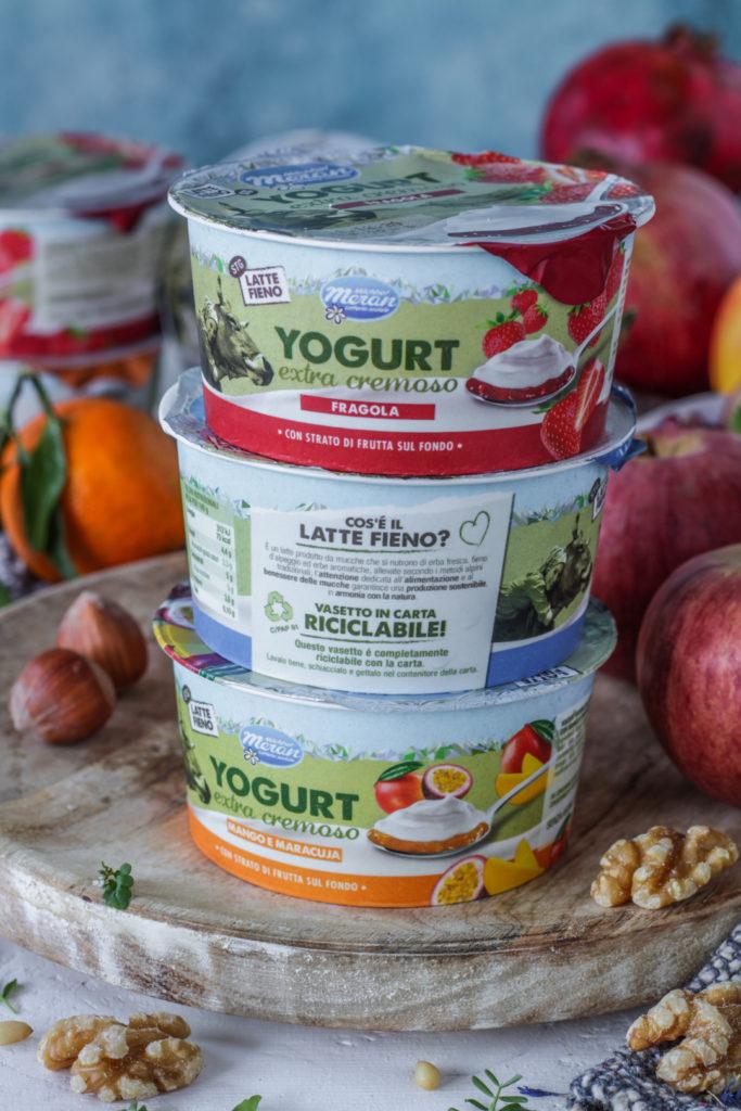 Yogurt latte fieno alto adige sostenibilità