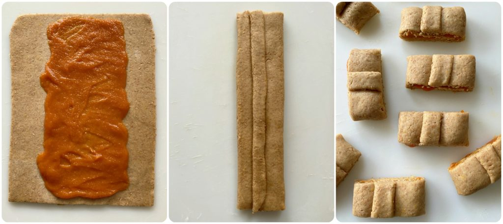 Come preparare frollini vegan ripieni di zucca