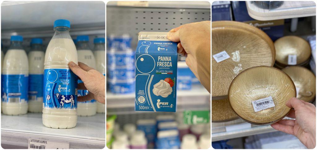 Panna e latte Iper la Grande i