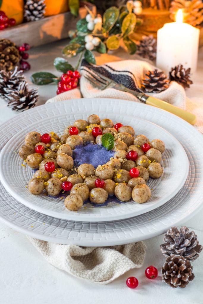Gnocchetti di farro e ricotta con cavolo cappuccio facili per Natale