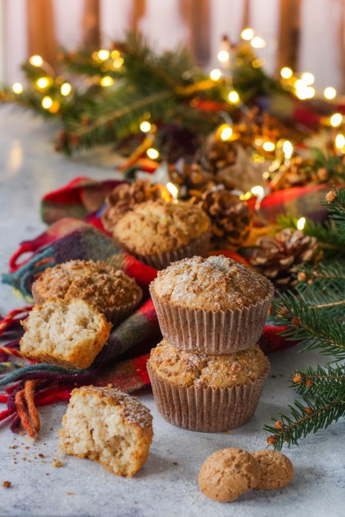 muffin panna e amaretti senza uova facilissimi