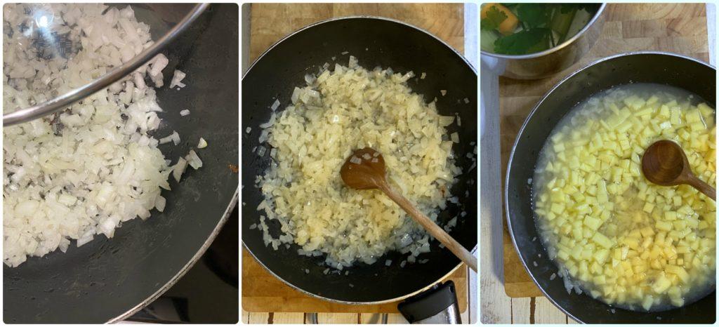 Clam chowder cipolla e patate Iper la grande i