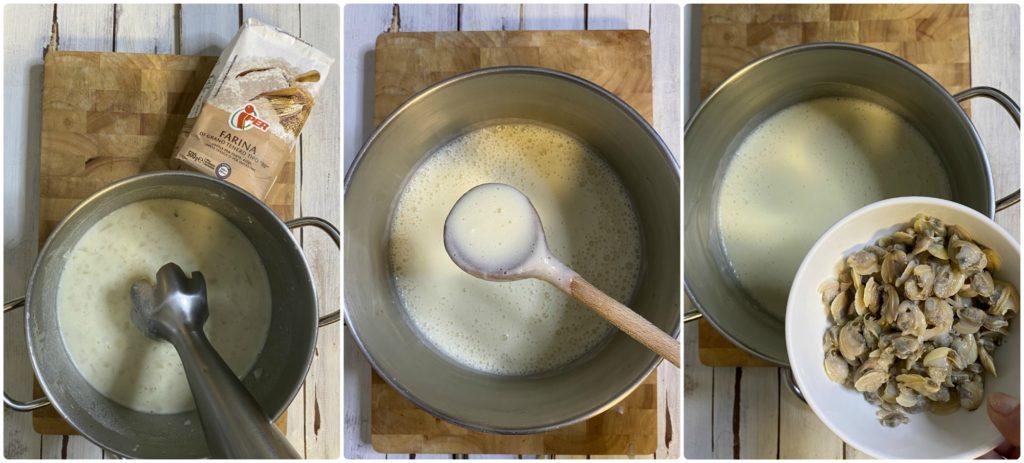 Clam chowder panna e latte Iper la grande i