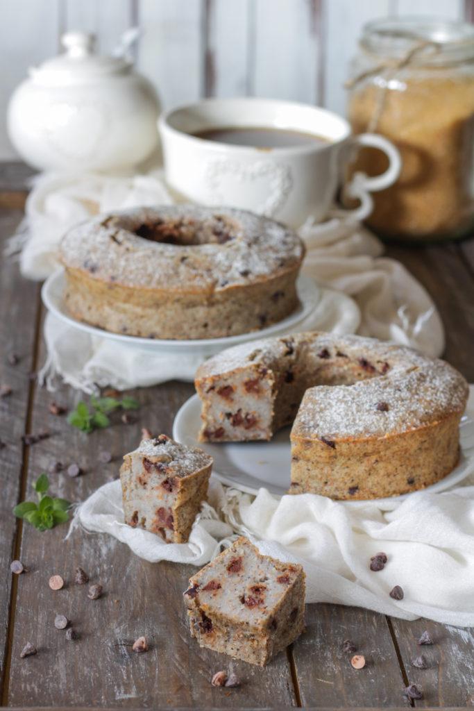 Torta veloce grano saraceno soia e cioccolato vegan senza uova