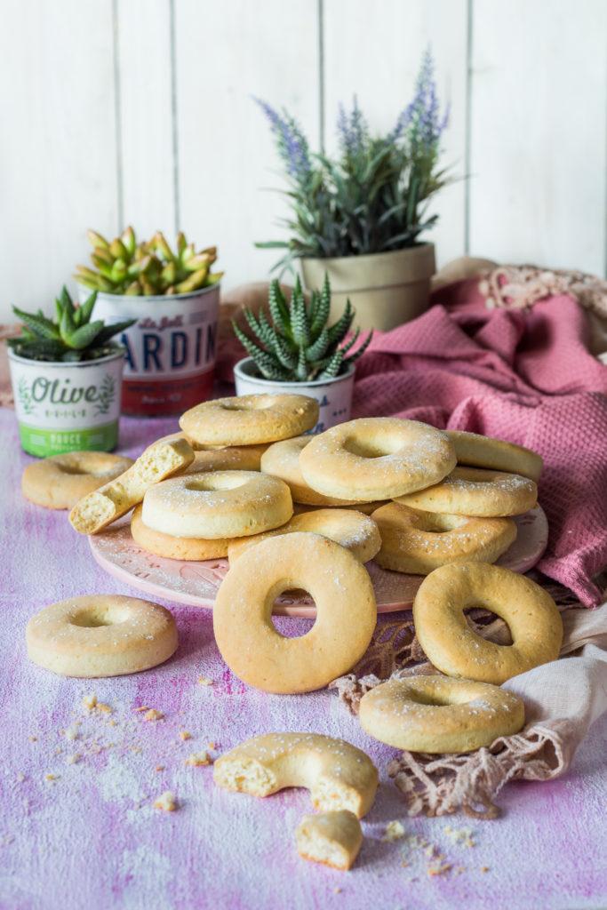 Biscotti donuts da inzuppo semplici e gustosi