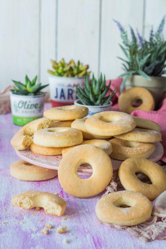 Biscotti donuts da inzuppo per colazione