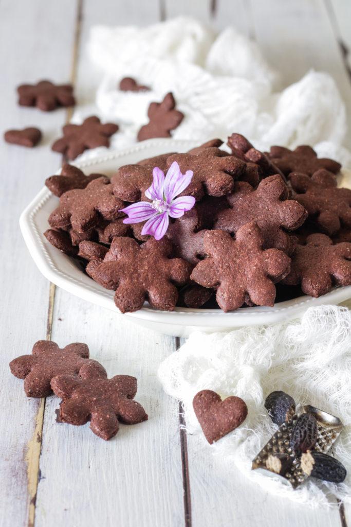 Frollini vegan farro cacao e fava tonka veloci light