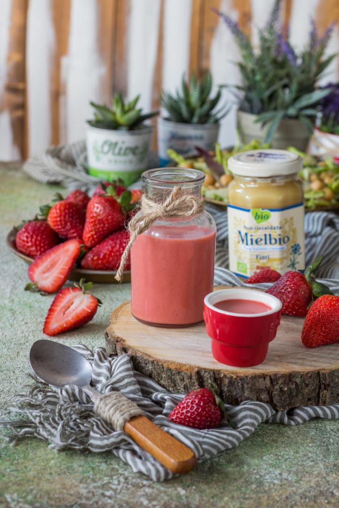 Salsa fragole e miele per insalata Rigoni di Asiago