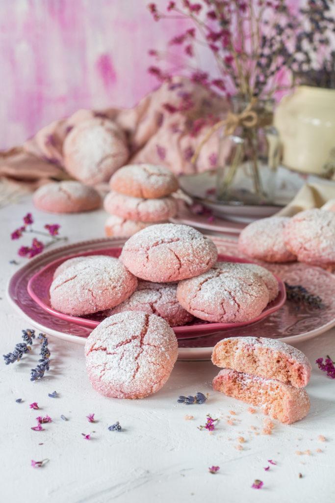 Crinkle cookies con yogurt e barbabietola facili e golosi